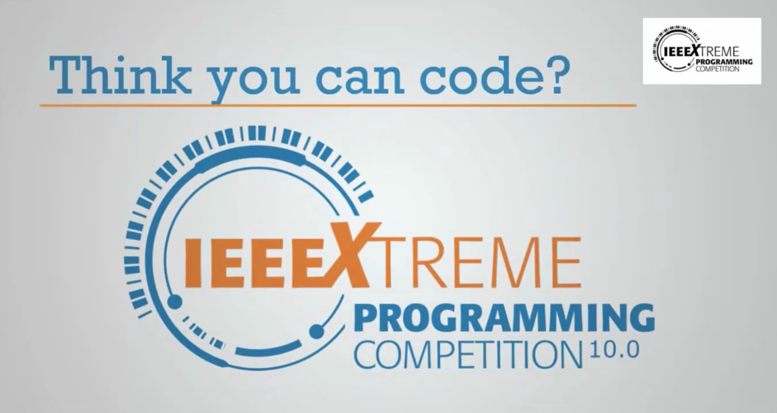 IEEEXtreme 24-Hour Programming Competition - Sign up now for IEEEXtreme 10.0