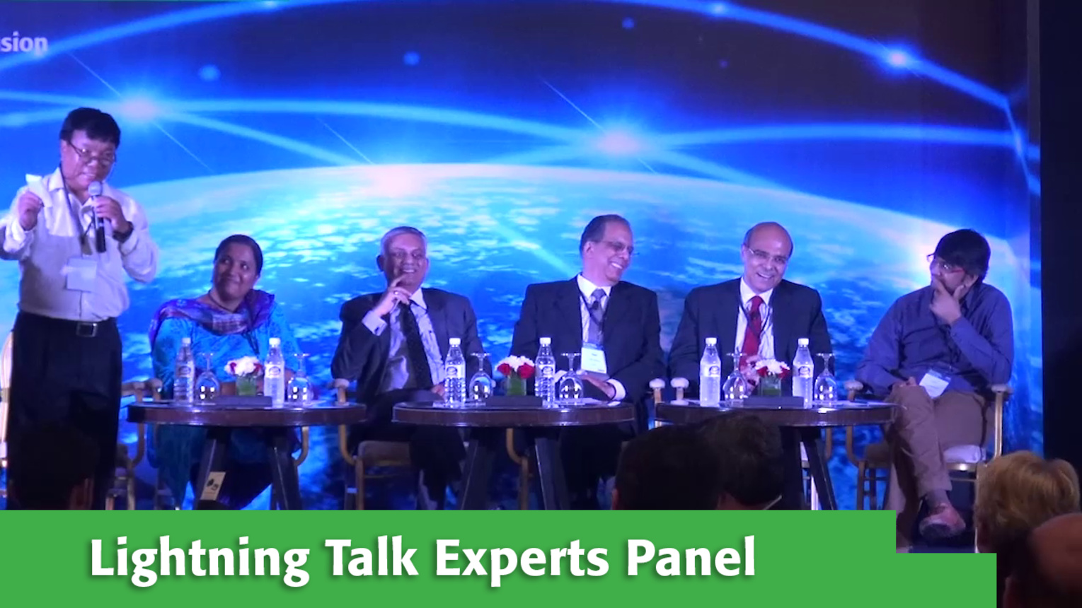 Lightning Talk Experts Panel at Internet Inclusion: Advancing Solutions, Delhi, 2016
