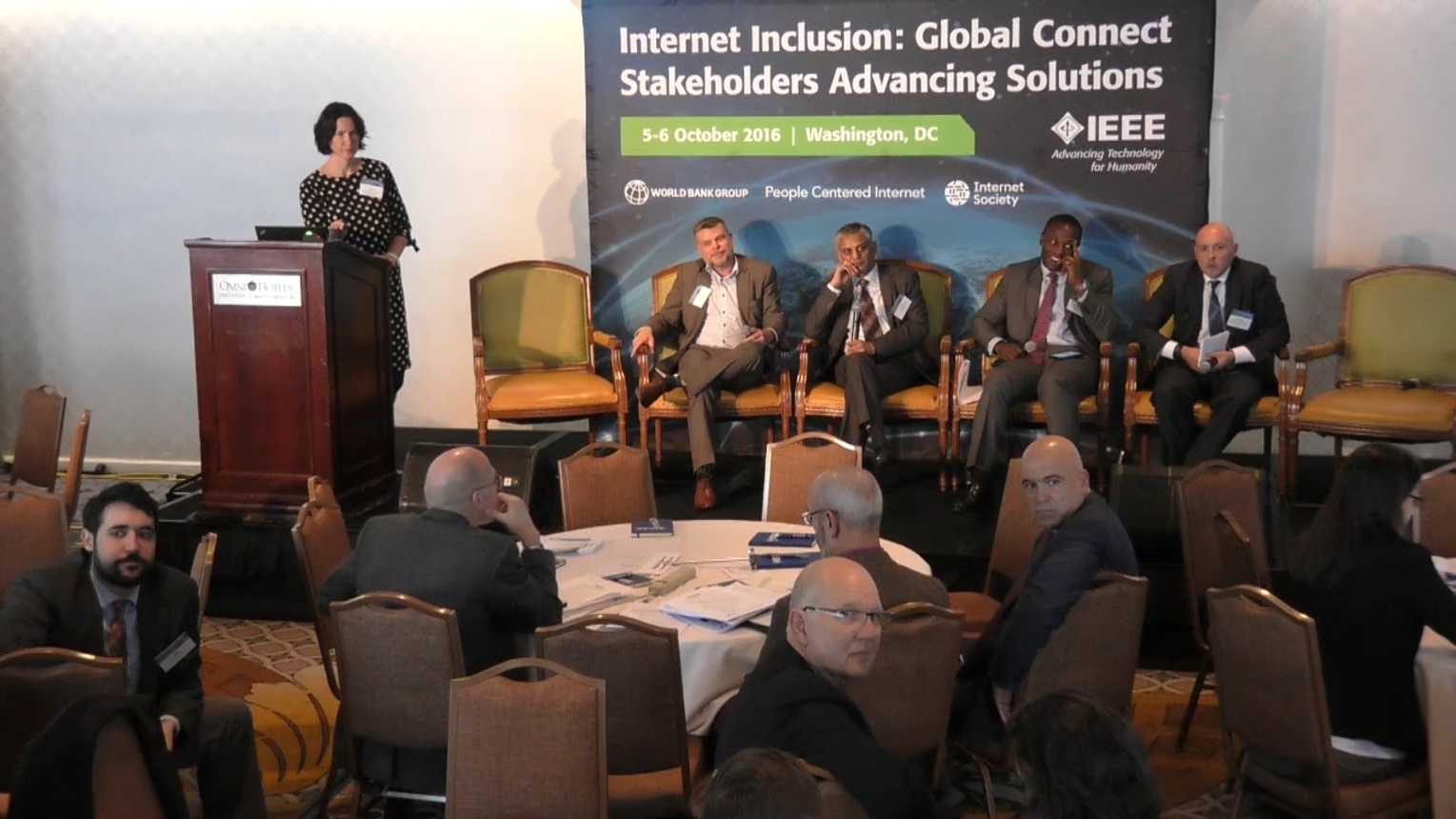 State of Internet Inclusion - Internet Inclusion: Global Connect Stakeholders Advancing Solutions, Washington DC, 2016
