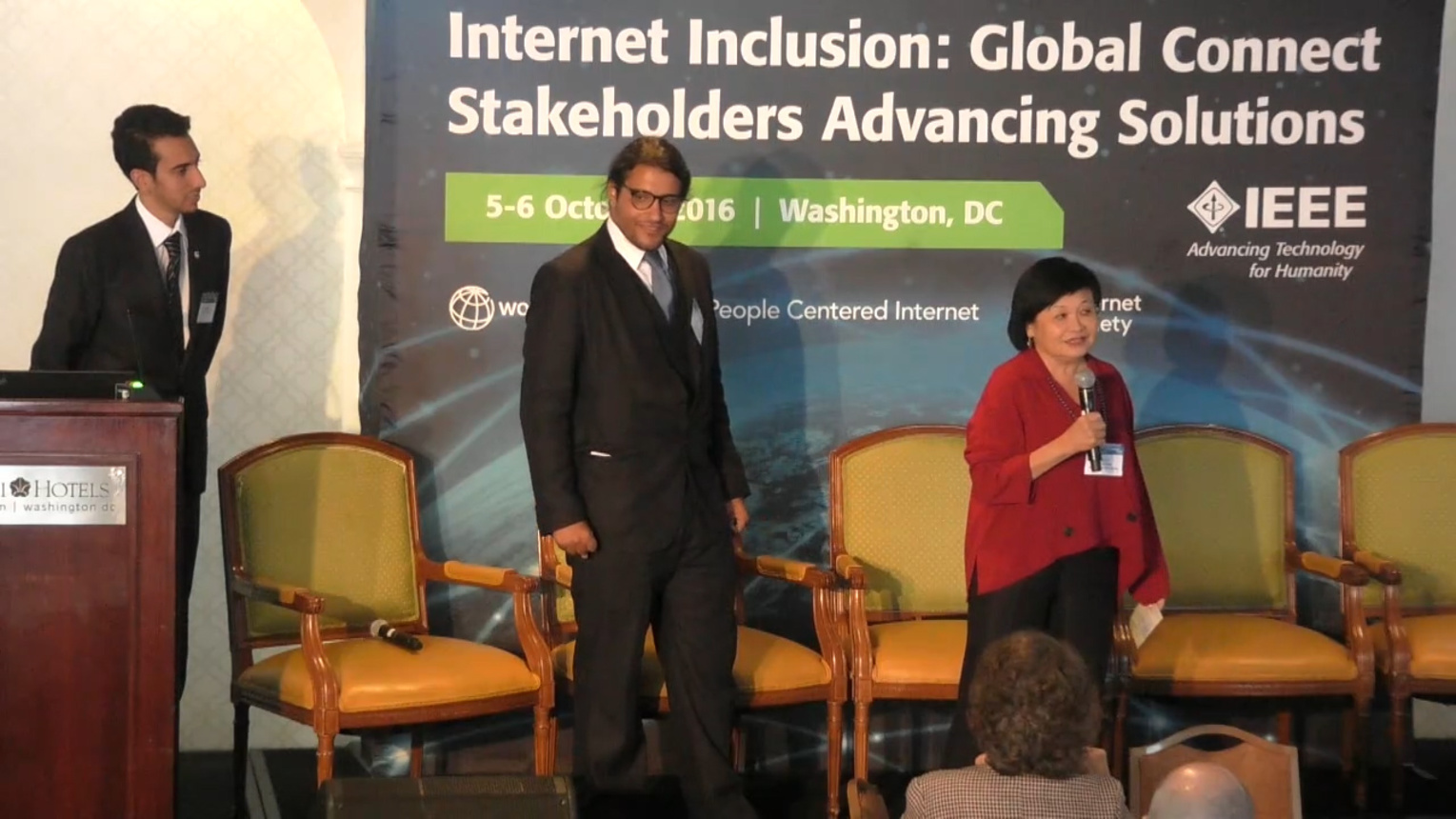 Examples for Success in 2020 - Internet Inclusion: Global Connect Stakeholders Advancing Solutions, Washington DC, 2016