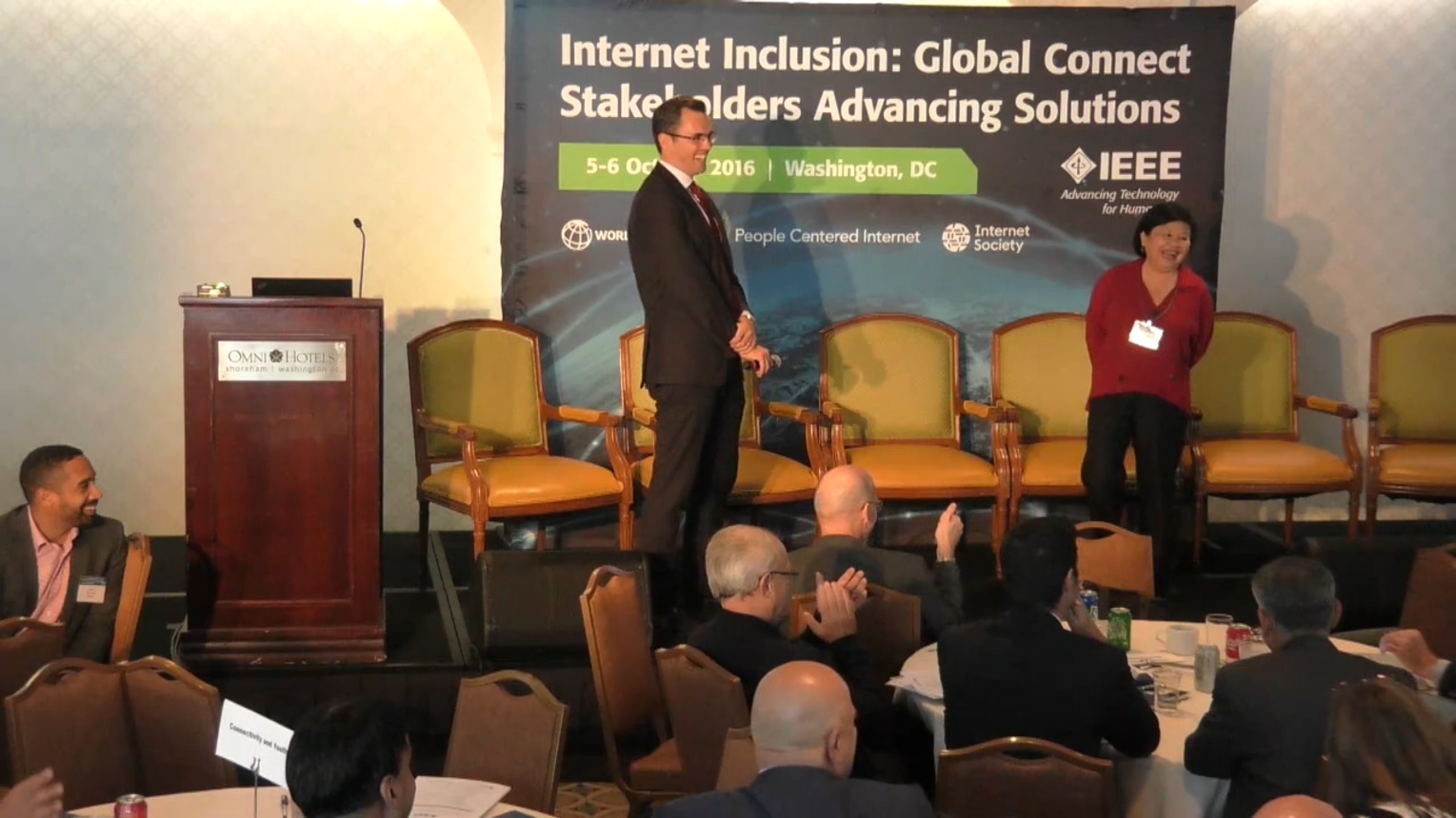 Setting the Conditions for 2020 - Internet Inclusion: Global Connect Stakeholders Advancing Solutions, Washington DC, 2016
