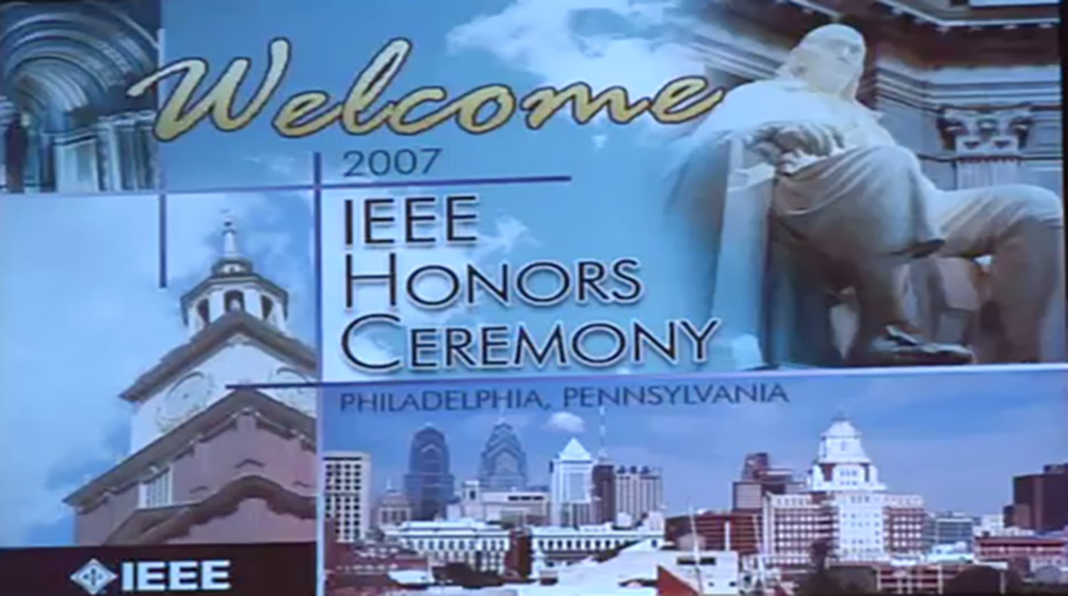 2007 IEEE Honors Ceremony
