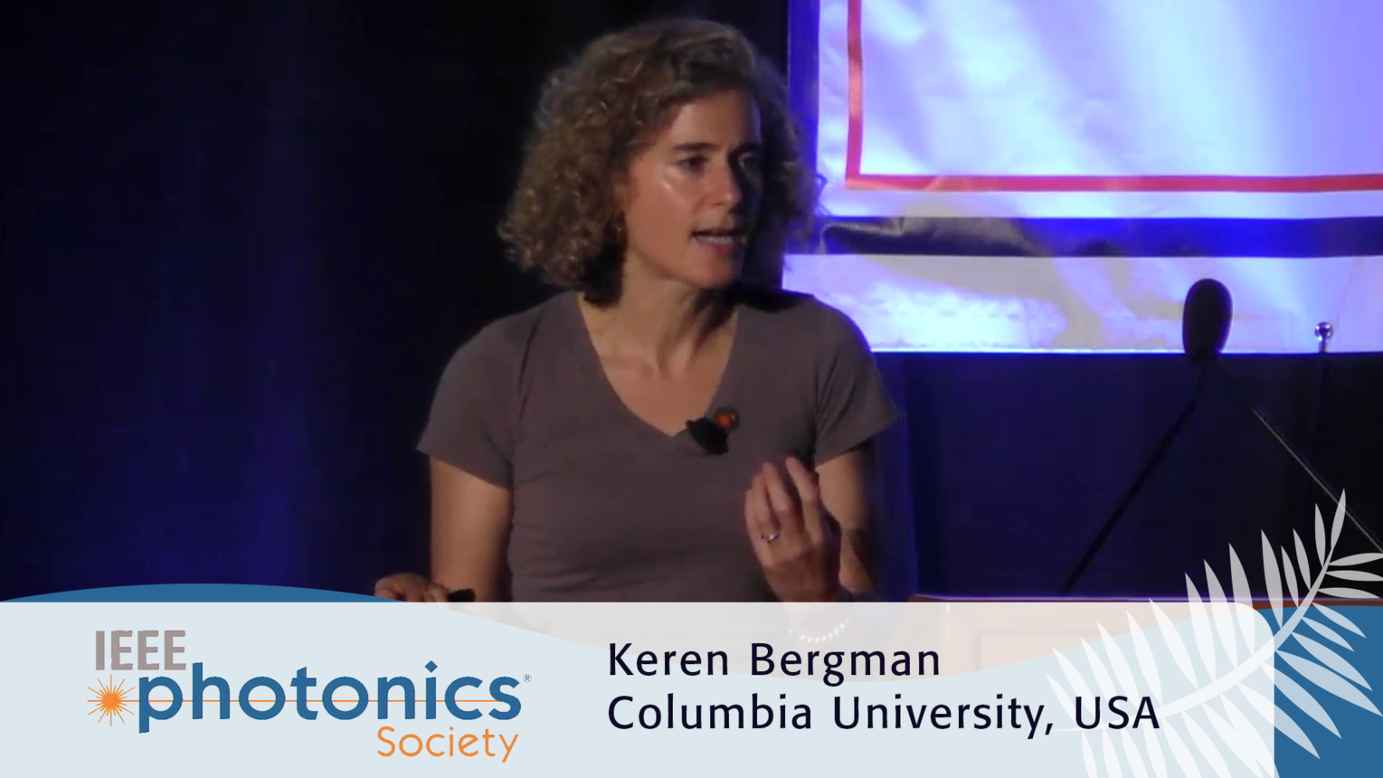 Optically Interconnected Extreme Scale Computing - Keren Bergman Plenary from the 2016 IEEE Photonics Conference