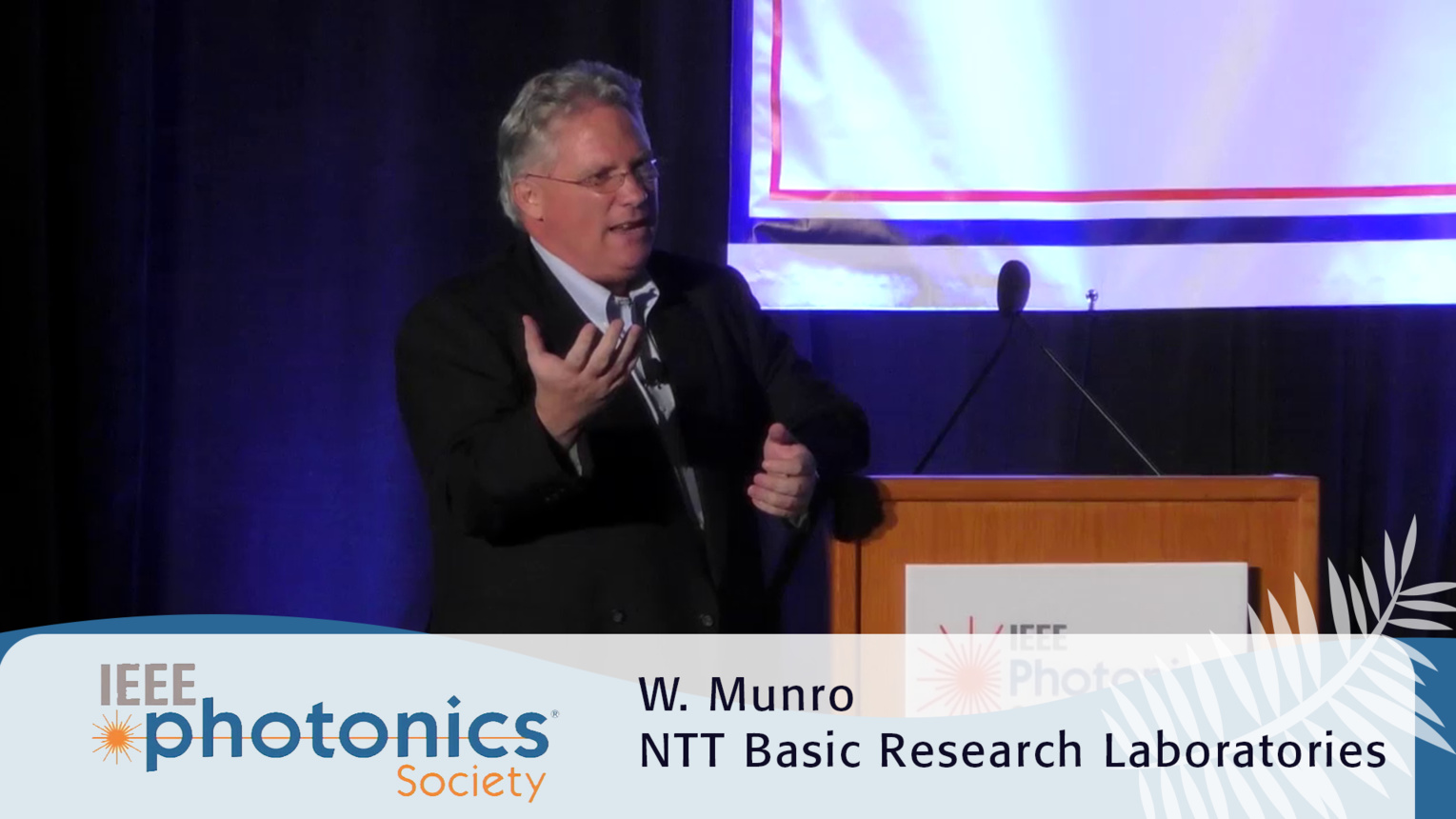 Quantum Communication for Tomorrow - W.J. Munro Plenary from 2016 IEEE Photonics Conference