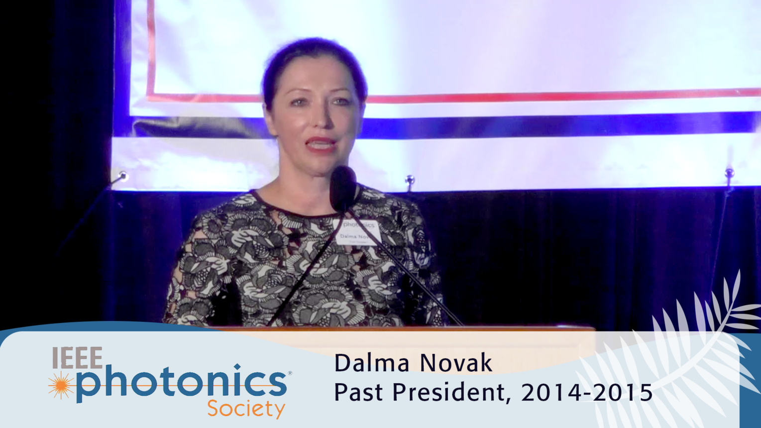Intro to Women in Photonics - 2016 IEEE Photonics Conference