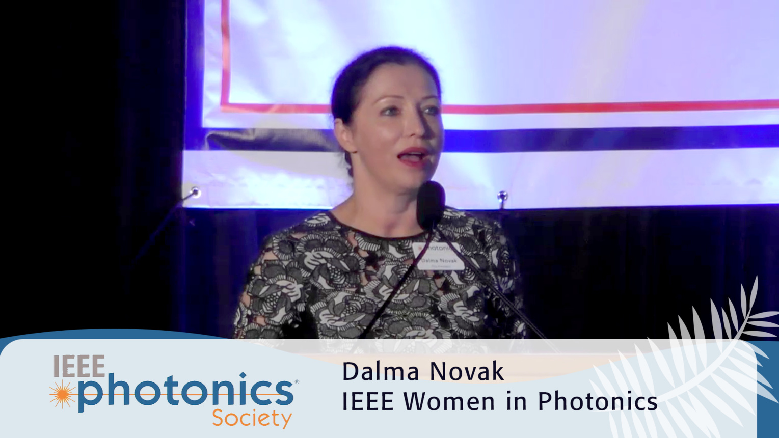 Women in Photonics Workshop Introduction - 2016 IEEE Photonics Conference