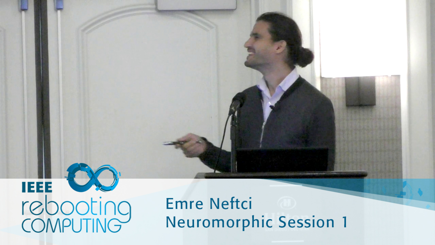 Conversion of Artificial Recurrent Neural Networks to Spiking Neural Networks for Low-power Neuromorphic Hardware - Emre Neftci: 2016 International Conference on Rebooting Computing