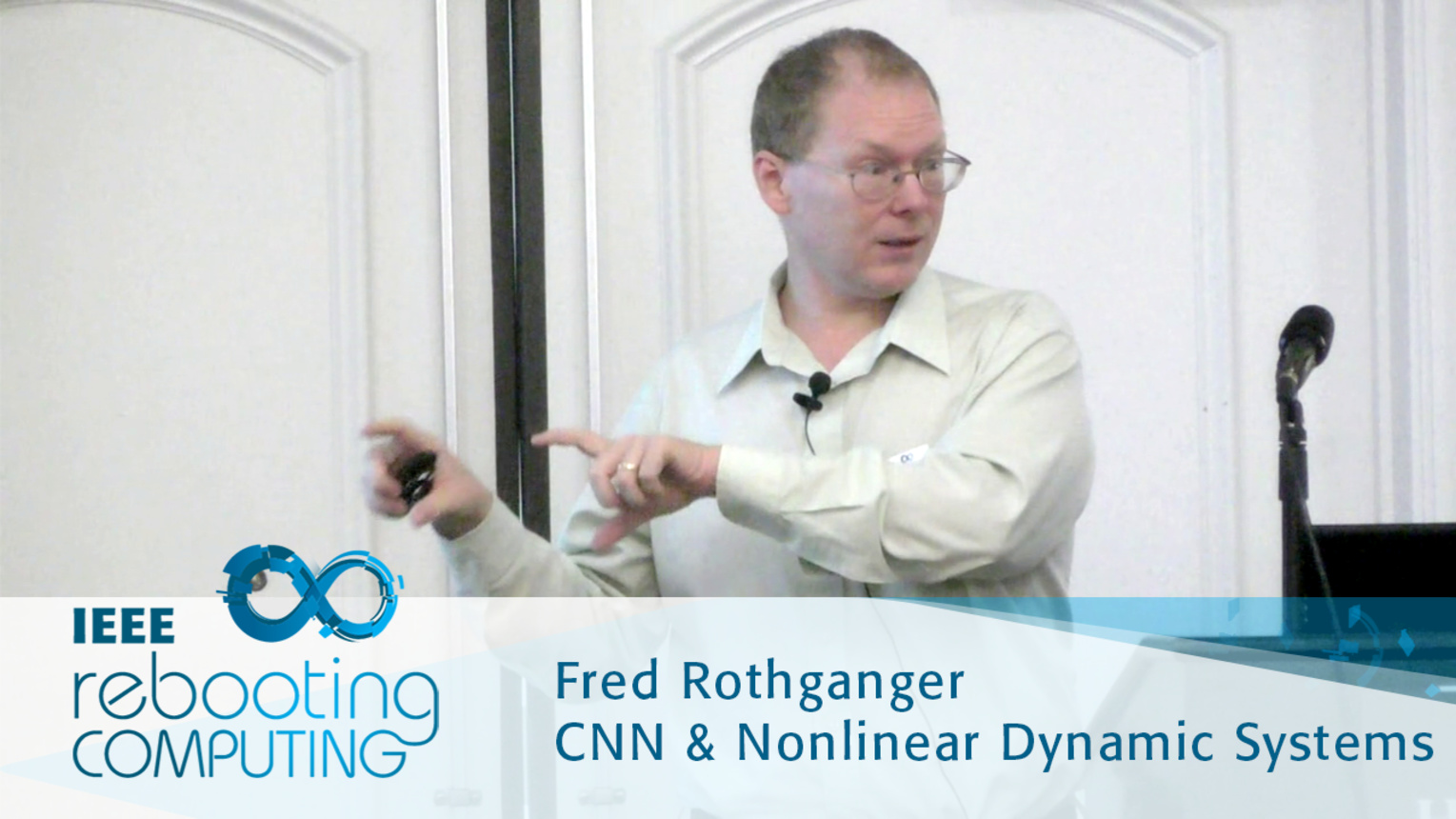 Computing with Dynamical Systems - Fred Rothganger: 2016 International Conference on Rebooting Computing