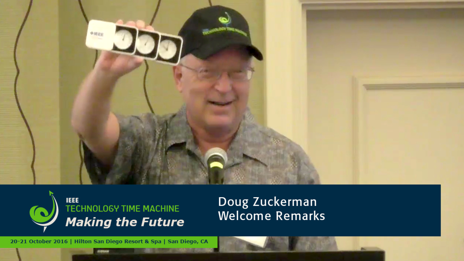 Welcome Remarks - Doug Zuckerman: 2016 Technology Time Machine