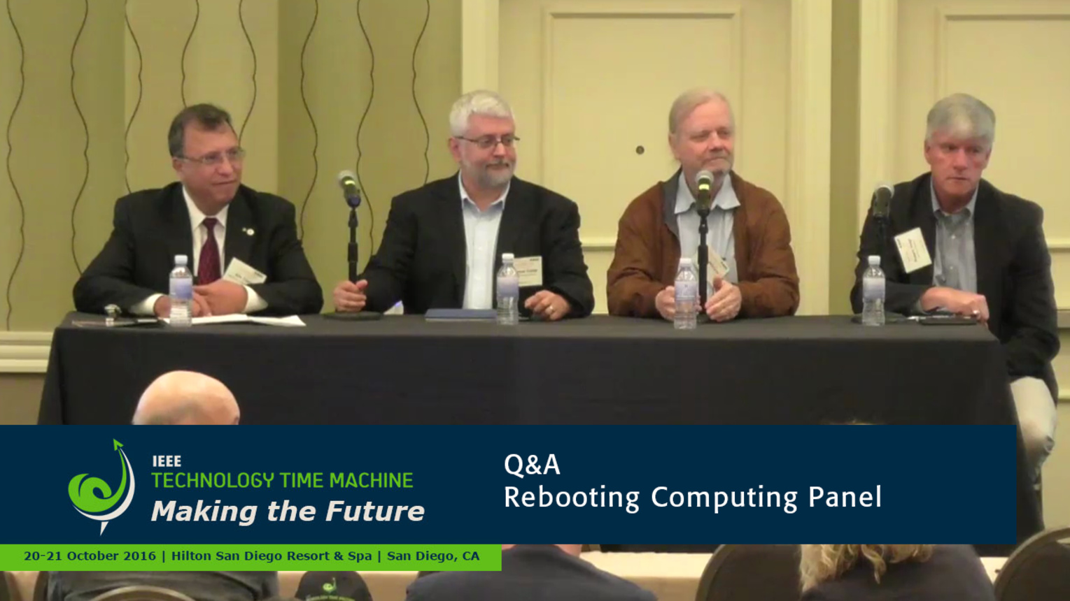 Panel Q&A - Rebooting Computing: 2016 Technology Time Machine