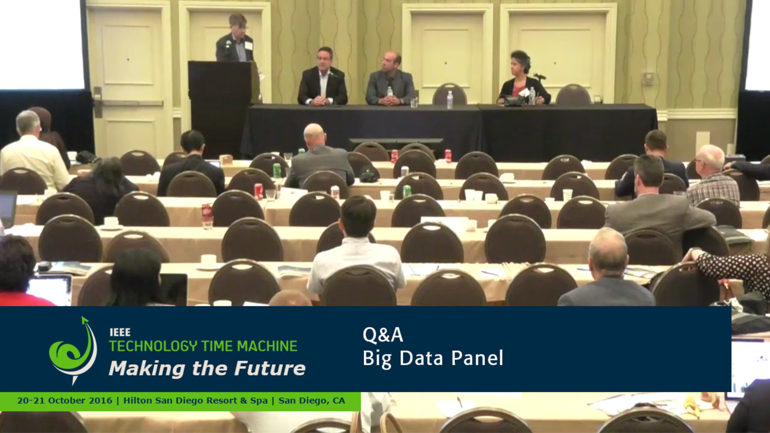 Panel Q&A - Big Data: 2016 Technology Time Machine