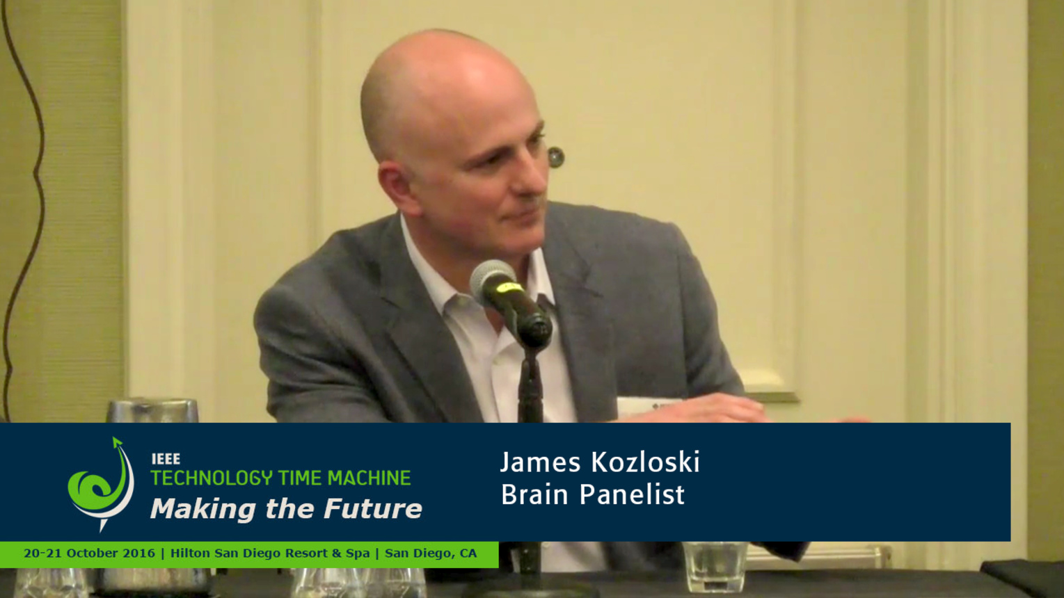 Brain Panelist - James Kozloski: 2016 Technology Time Machine