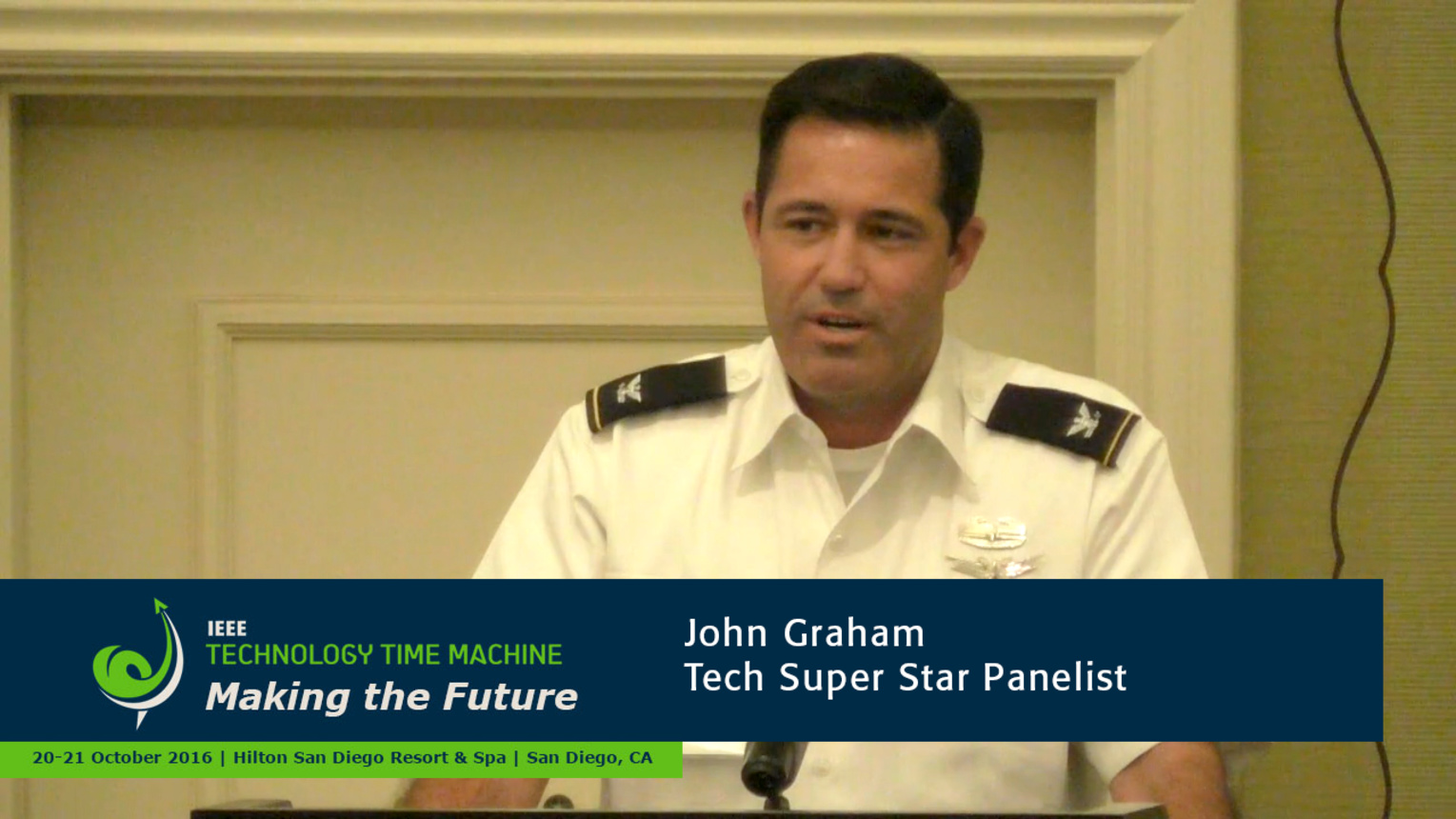 Tech Super Stars Panelist - John Graham: 2016 Technology Time Machine