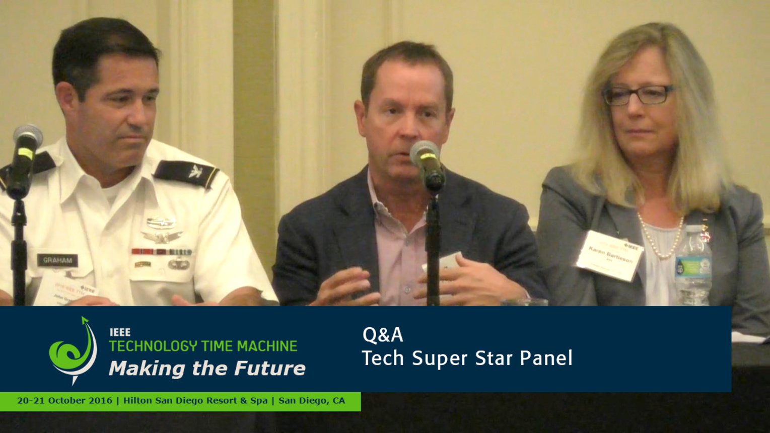 Tech Super Stars Panelist - Q&A: 2016 Technology Time Machine