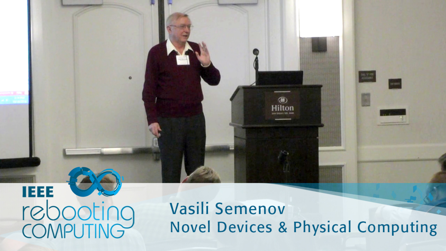 Erasing Logic-Memory Boundaries in Superconductor Electronics - Vasili Semenov: 2016 International Conference on Rebooting Computing