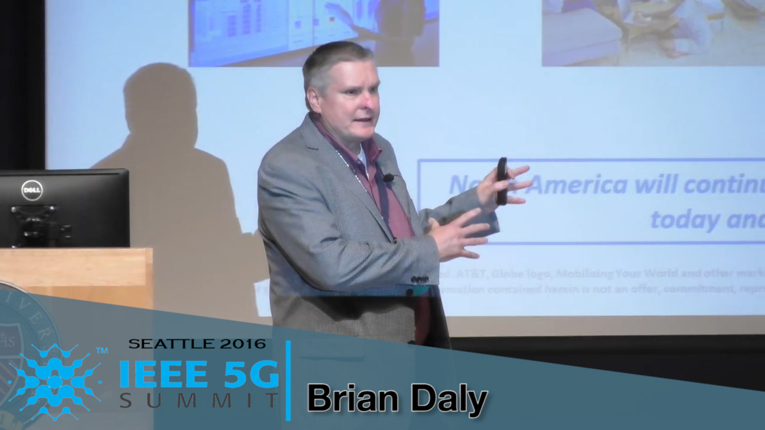 The Standards Road to 5G - 5G Summit, Seattle 2016