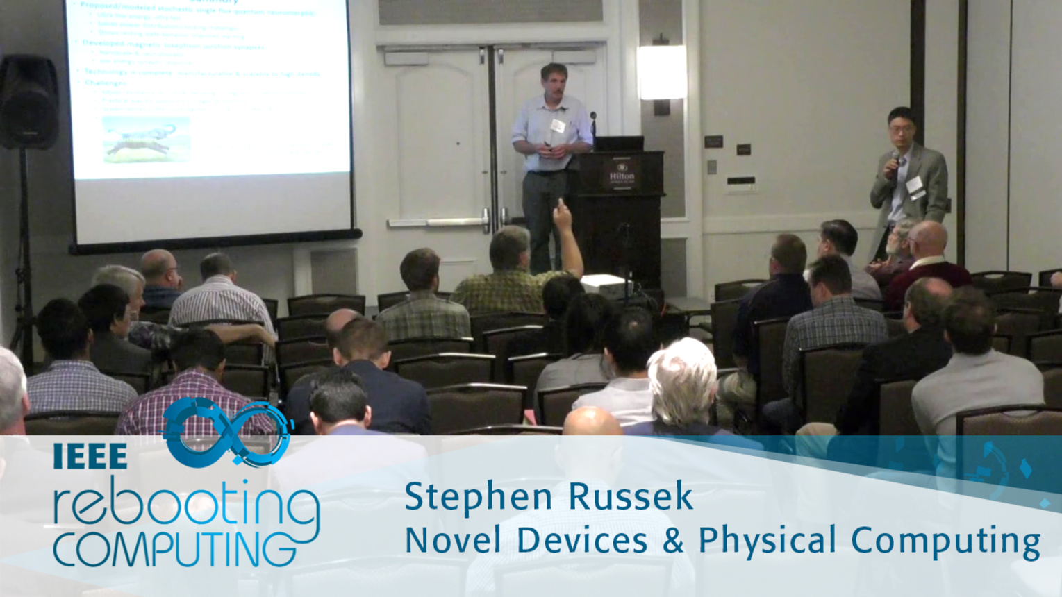 Stochastic Single Flux Quantum Neuromorphic Computing using Magnetically Tunable Josephson Junctions - Stephen Russek: 2016 International Conference on Rebooting Computing