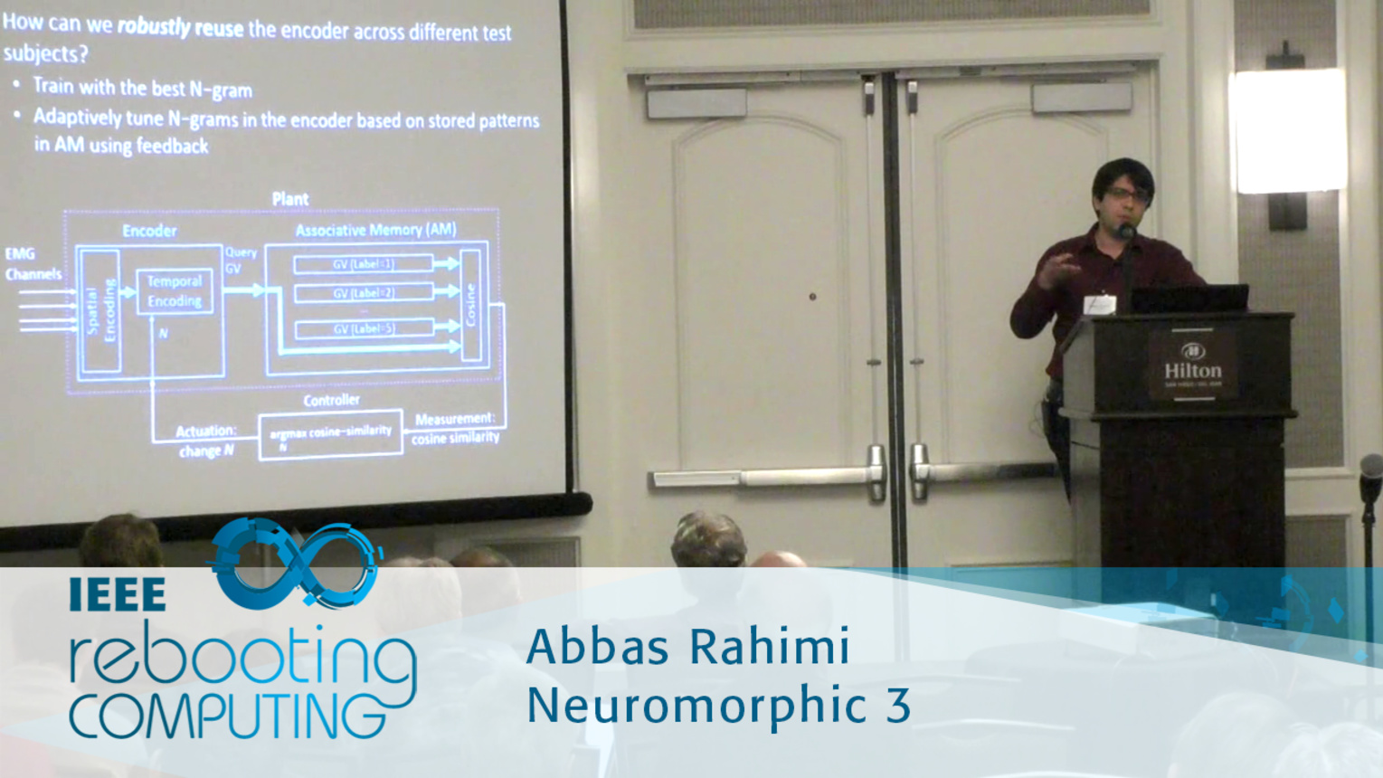Hyperdimensional Biosignal Processing: A Case Study for EMG-based Hand Gesture Recognition - Abbas Rahimi: 2016 International Conference on Rebooting Computing