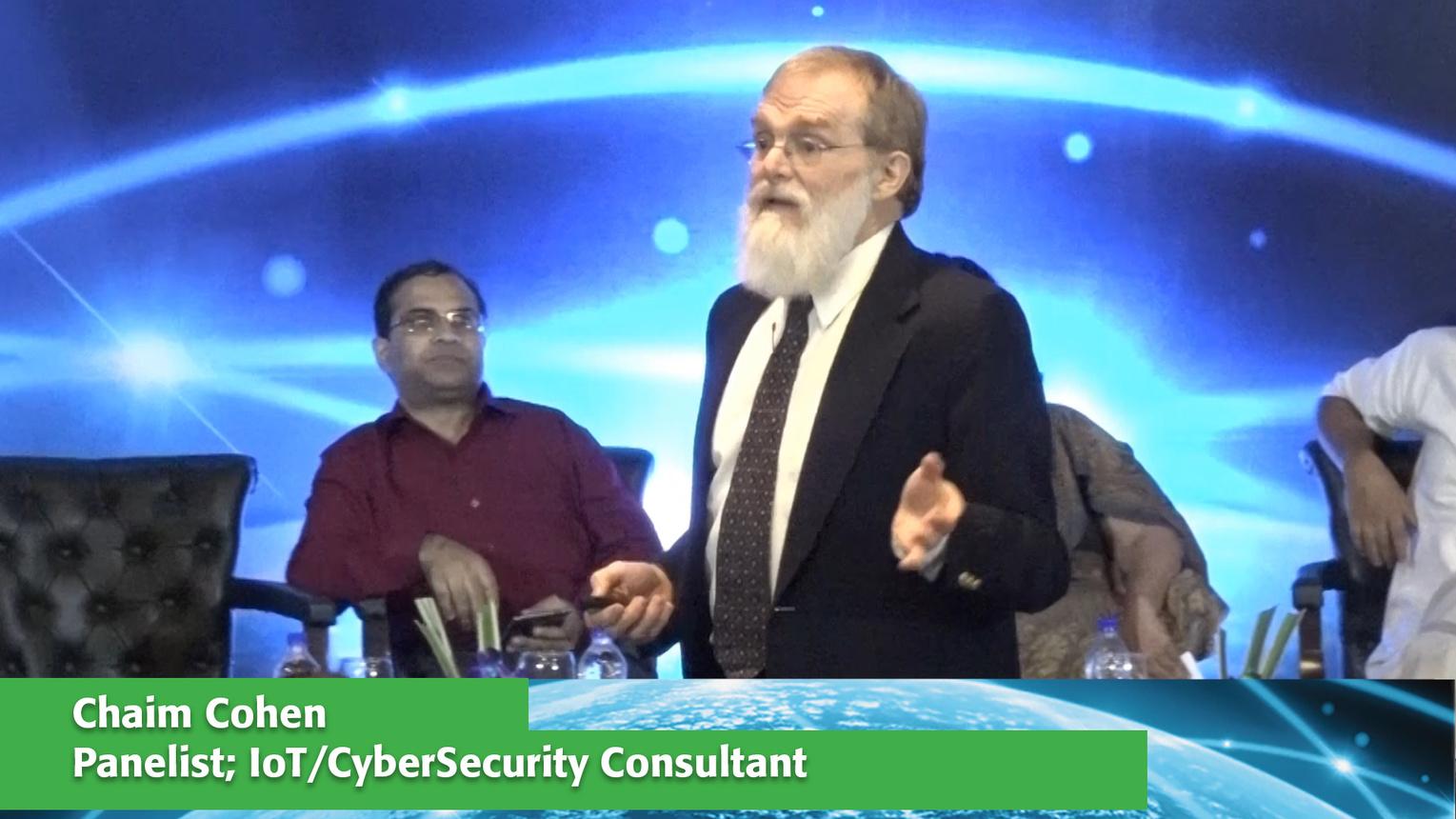 Panelist: Chaim Cohen - ETAP Delhi 2016