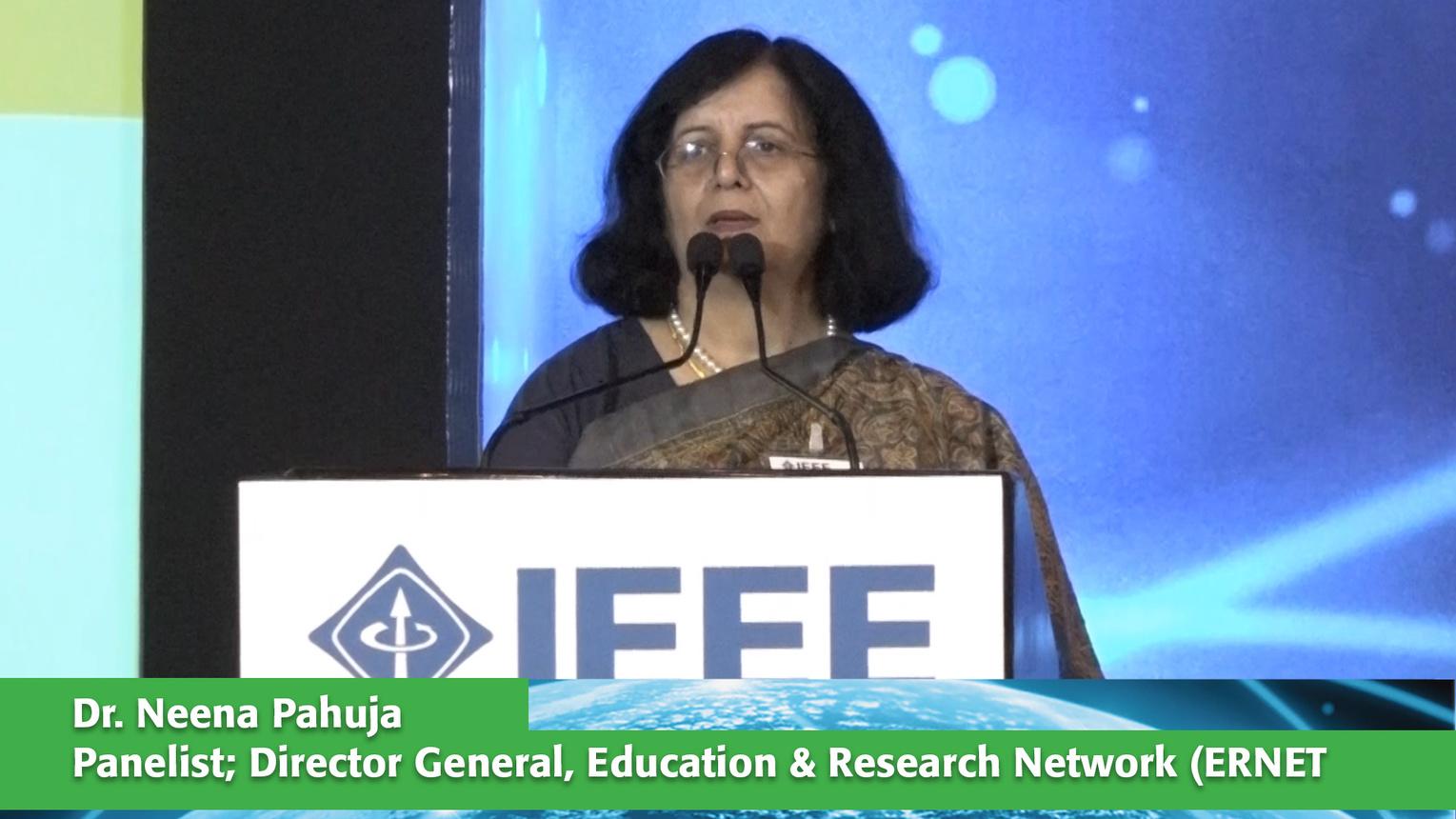 Panelist: Dr. Neena Pahuja - ETAP Delhi 2016