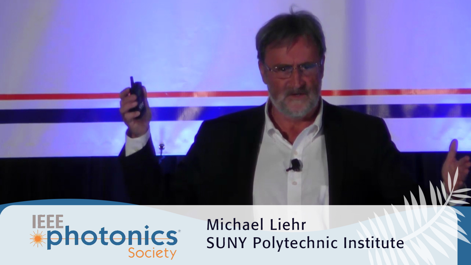 Integrated Photonics Manufacturing Initiative - Michael Liehr Plenary from the 2016 IEEE Photonics Conference