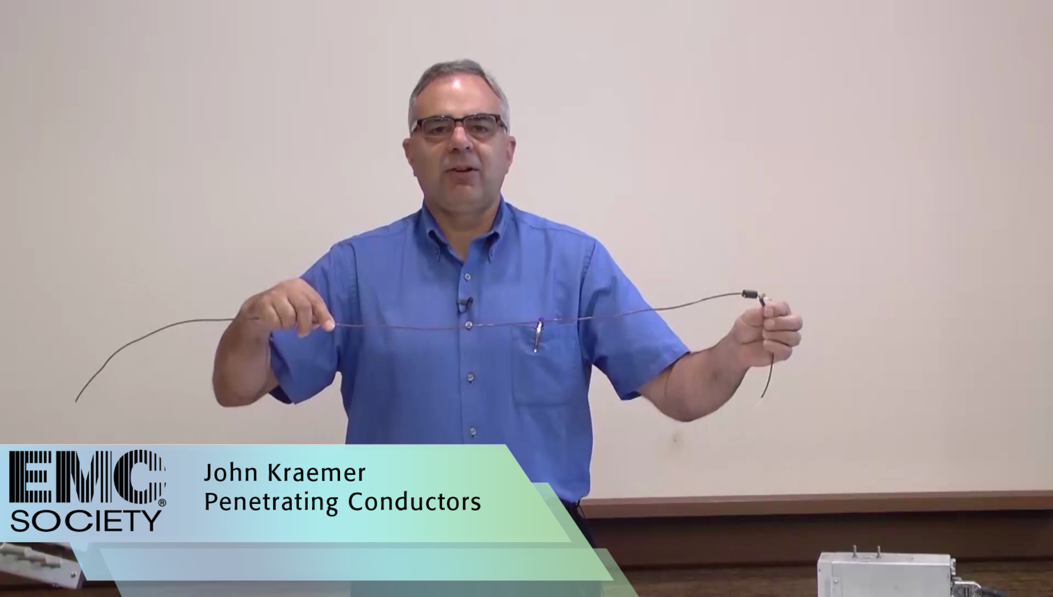Penetrating Conductors - EMC Society Demo