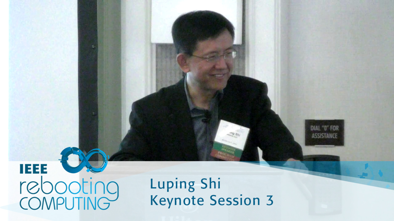 Brain Inspired Computing Systems - Luping Shi: 2016 International Conference on Rebooting Computing