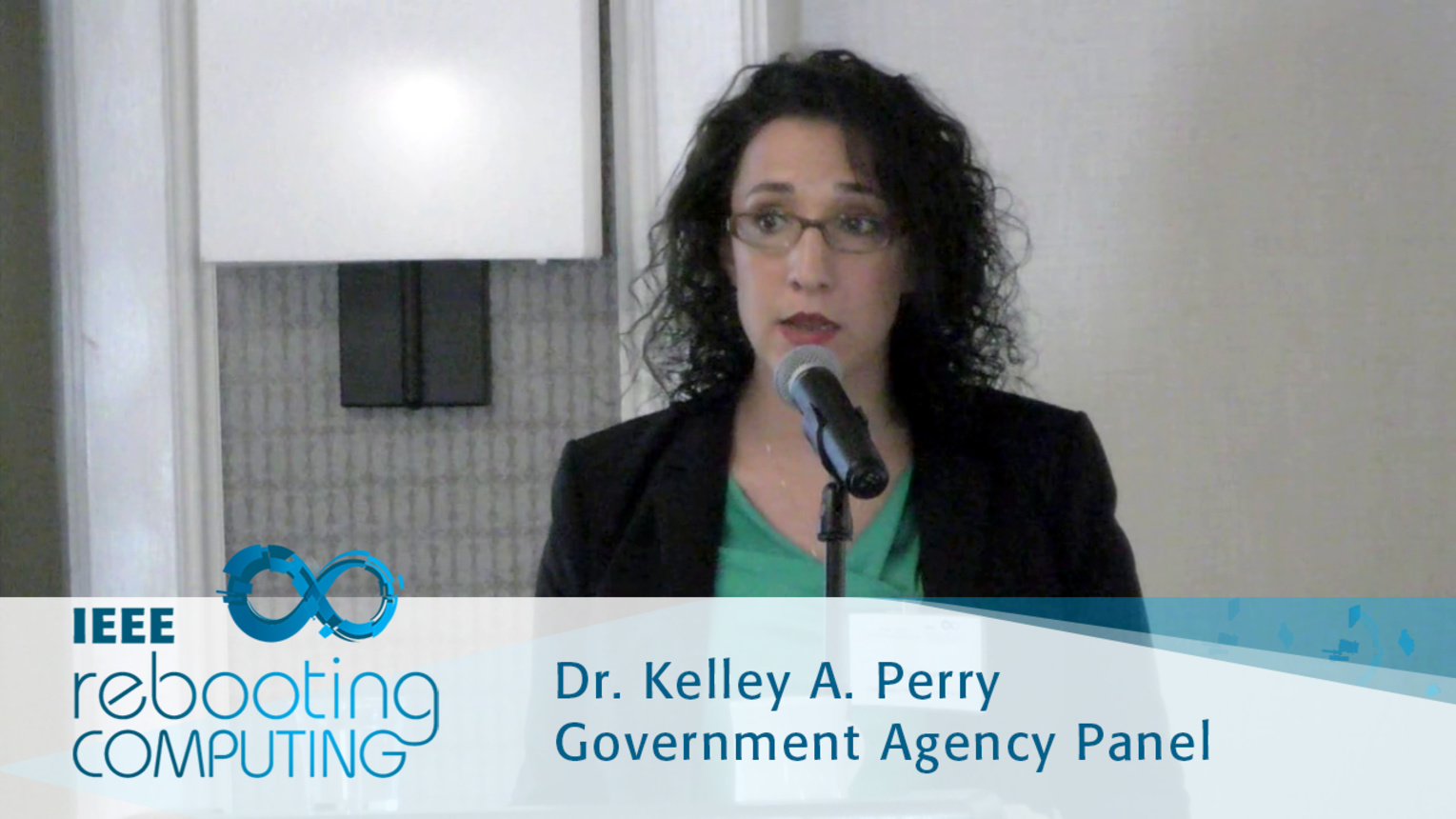 DOE-ASCR Activities Towards Rebooting Computing - Kelley Perry: 2016 International Conference on Rebooting Computing