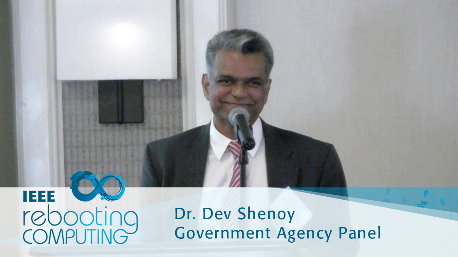 U.S. Department of Energy Advanced Manufacturing Overview - Dev Shenoy: 2016 International Conference on Rebooting Computing
