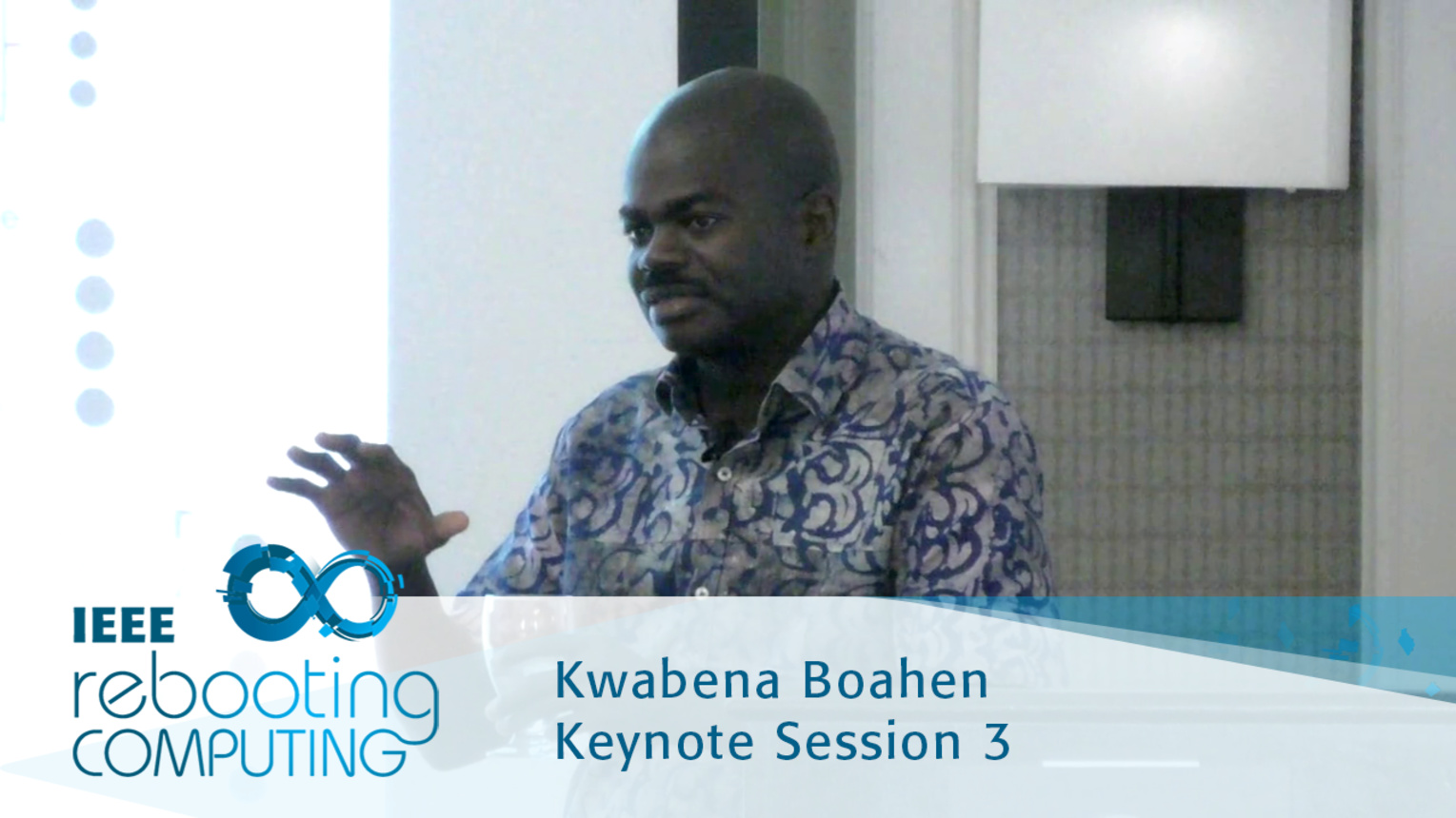 Neuromorphic Chips - Kwabena Boahen: 2016 International Conference on Rebooting Computing
