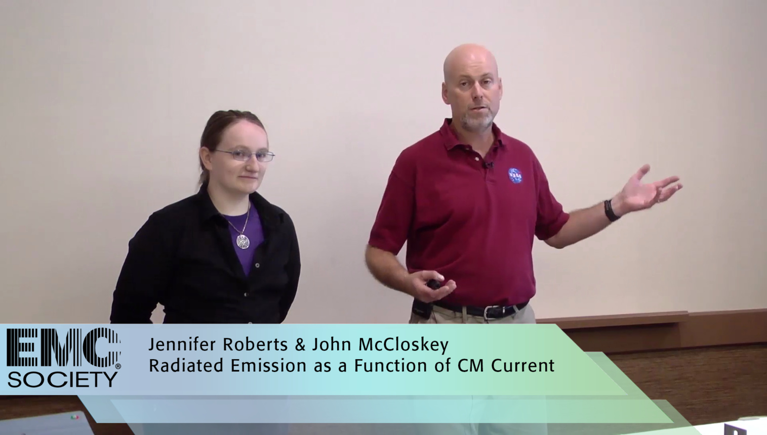 Radiated Emissions as Function of Common Mode Current - EMC Society Demo