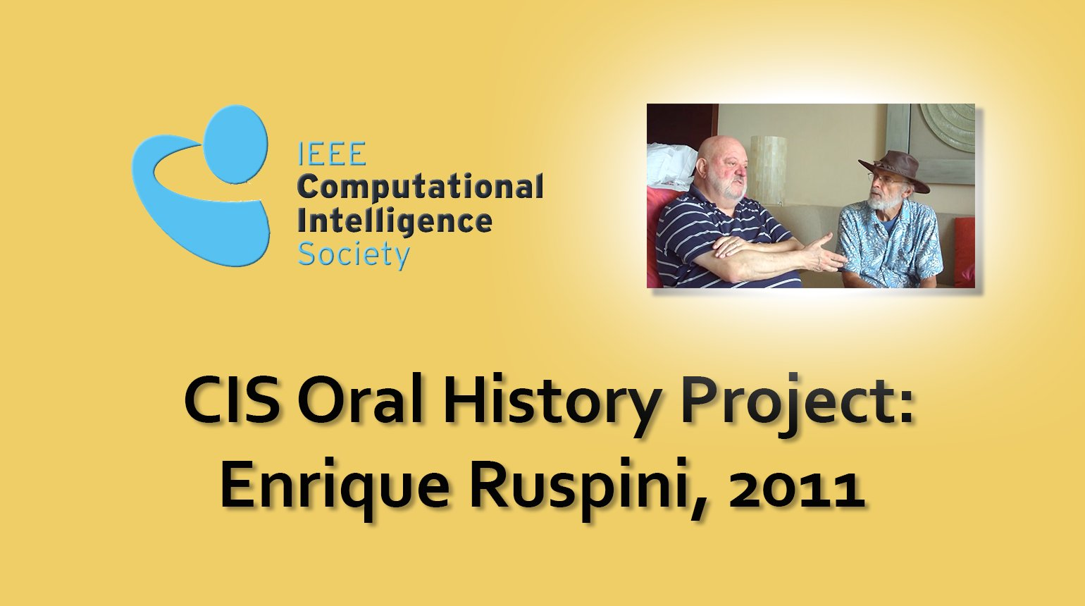 Interview with Enrique Ruspini, 2011: CIS Oral History Project