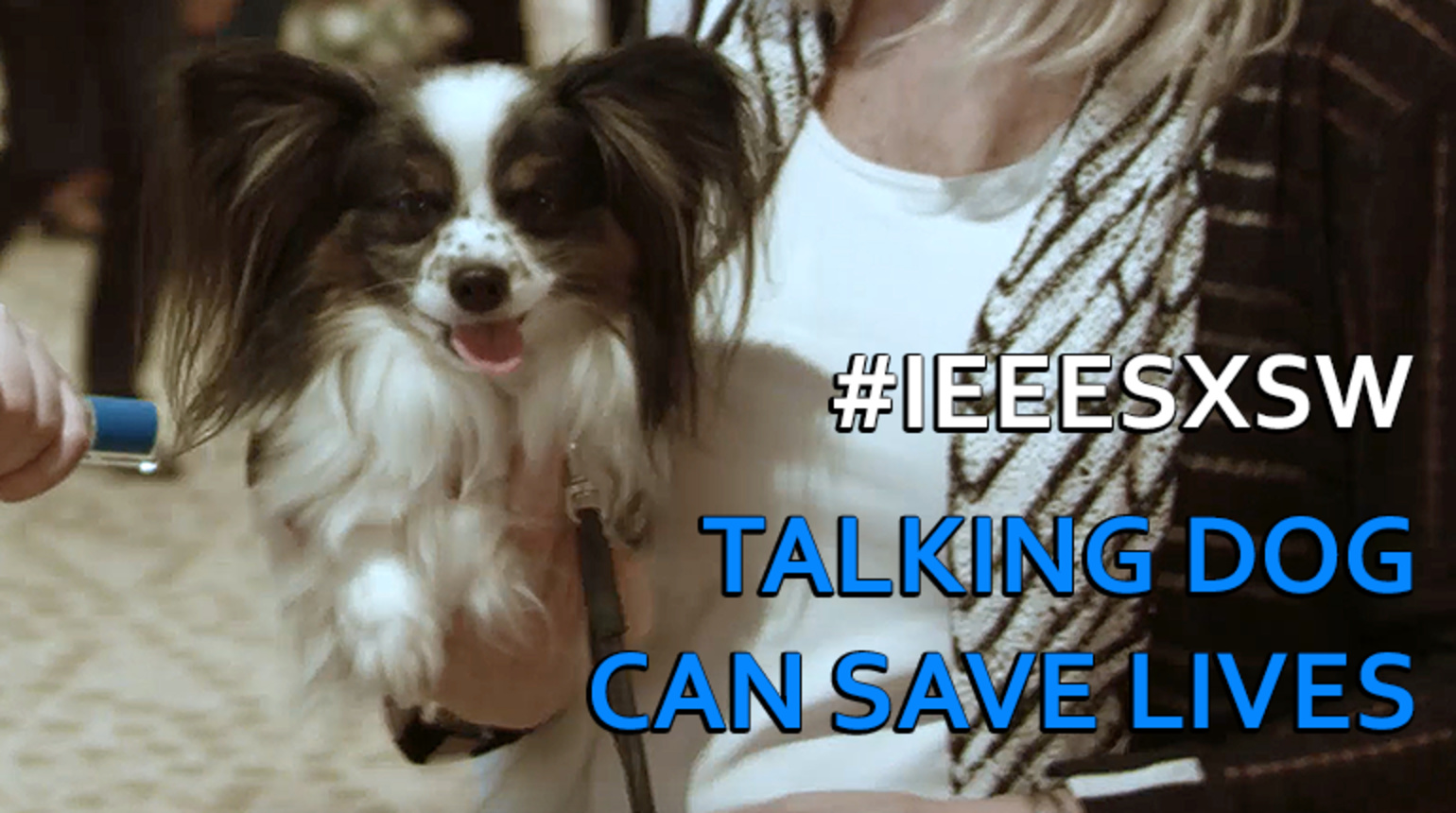 Talking Dog Can Save Lives: IEEE @ SXSW 2017
