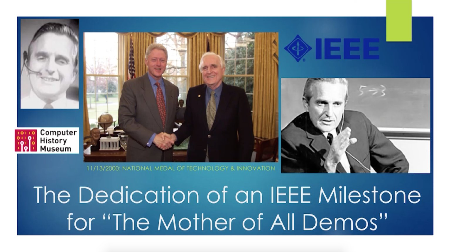 The Mother of All Demos: IEEE Engineering Milestone Event