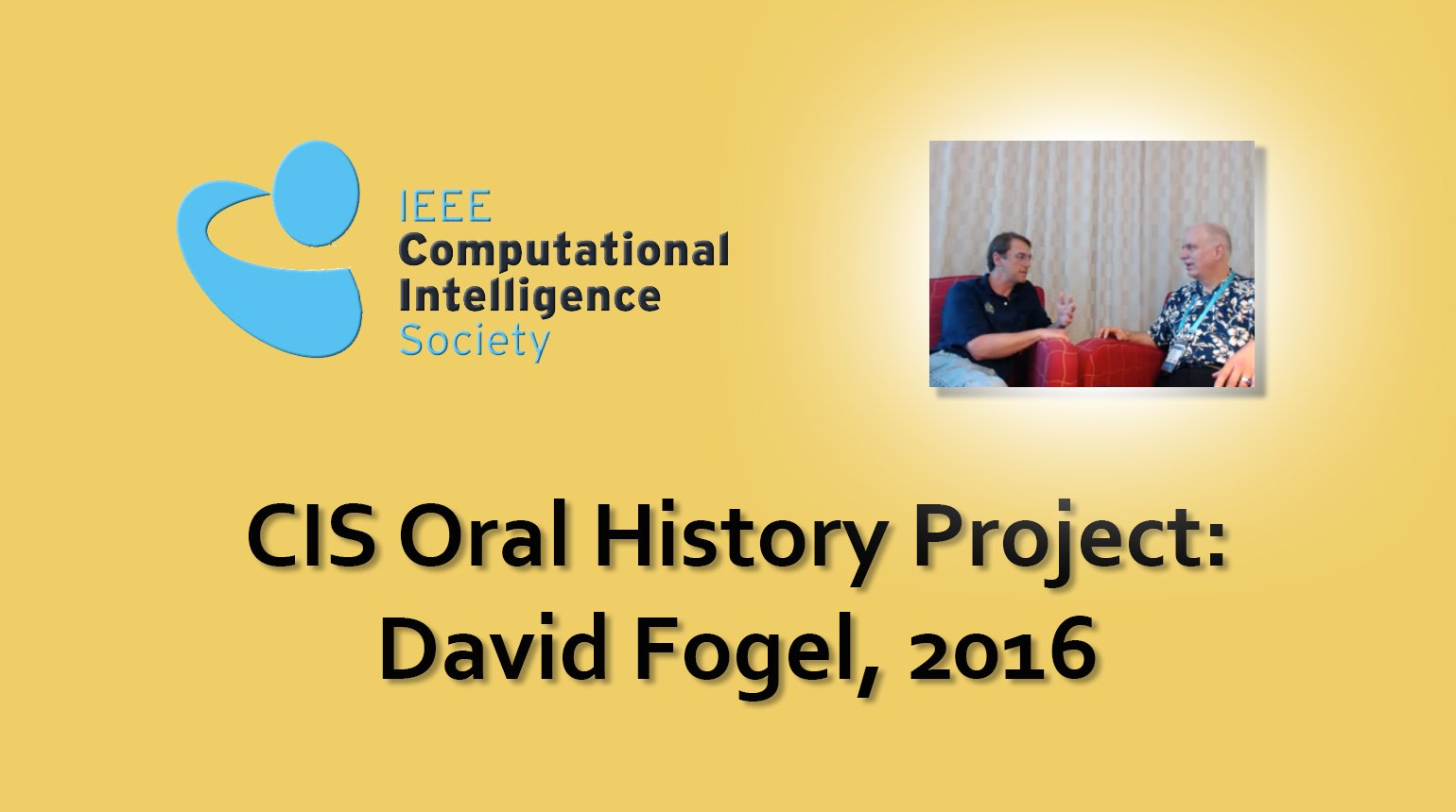 Interview with David Fogel, 2016: CIS Oral History Project