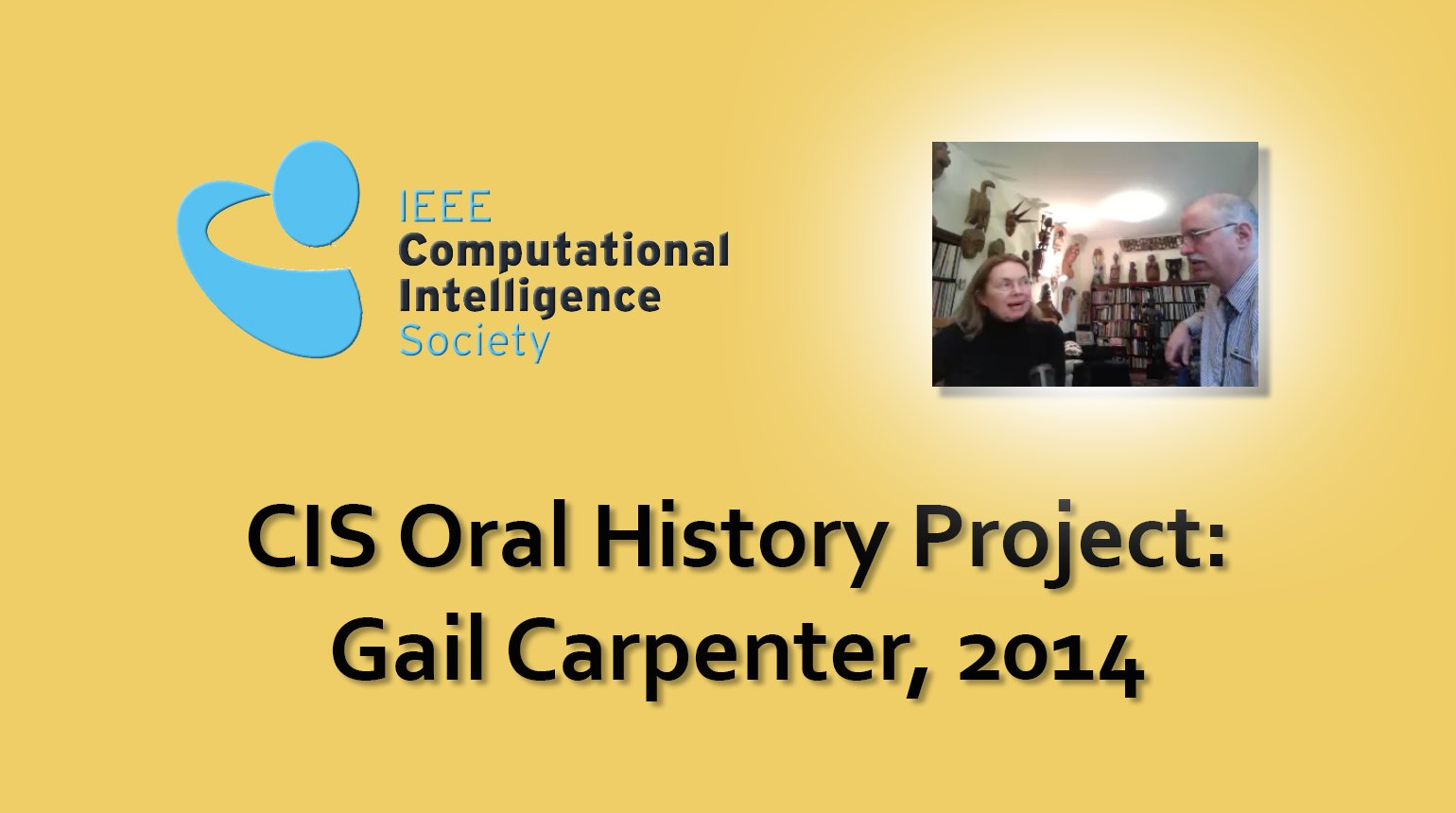 Interview with Gail Carpenter, 2014: CIS Oral History Project