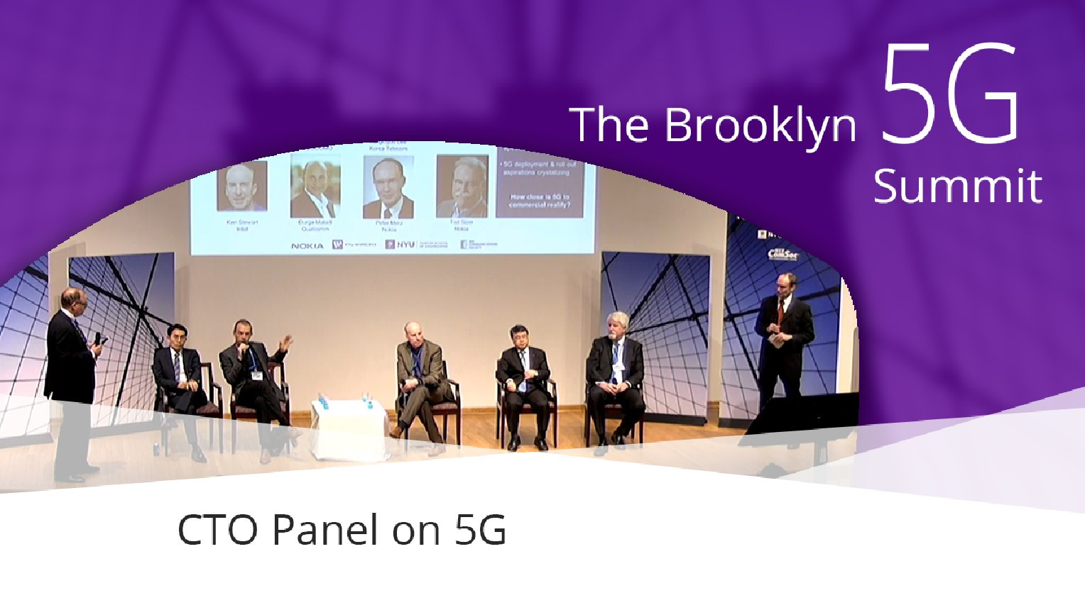 CTO Panel on 5G: Brooklyn 5G Summit 2017