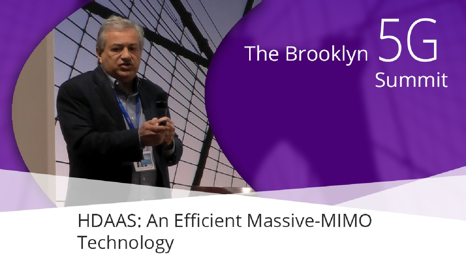 HDAAS: An Efficient Massive-MIMO Technology - Mihai Banu: Brooklyn 5G Summit 2017