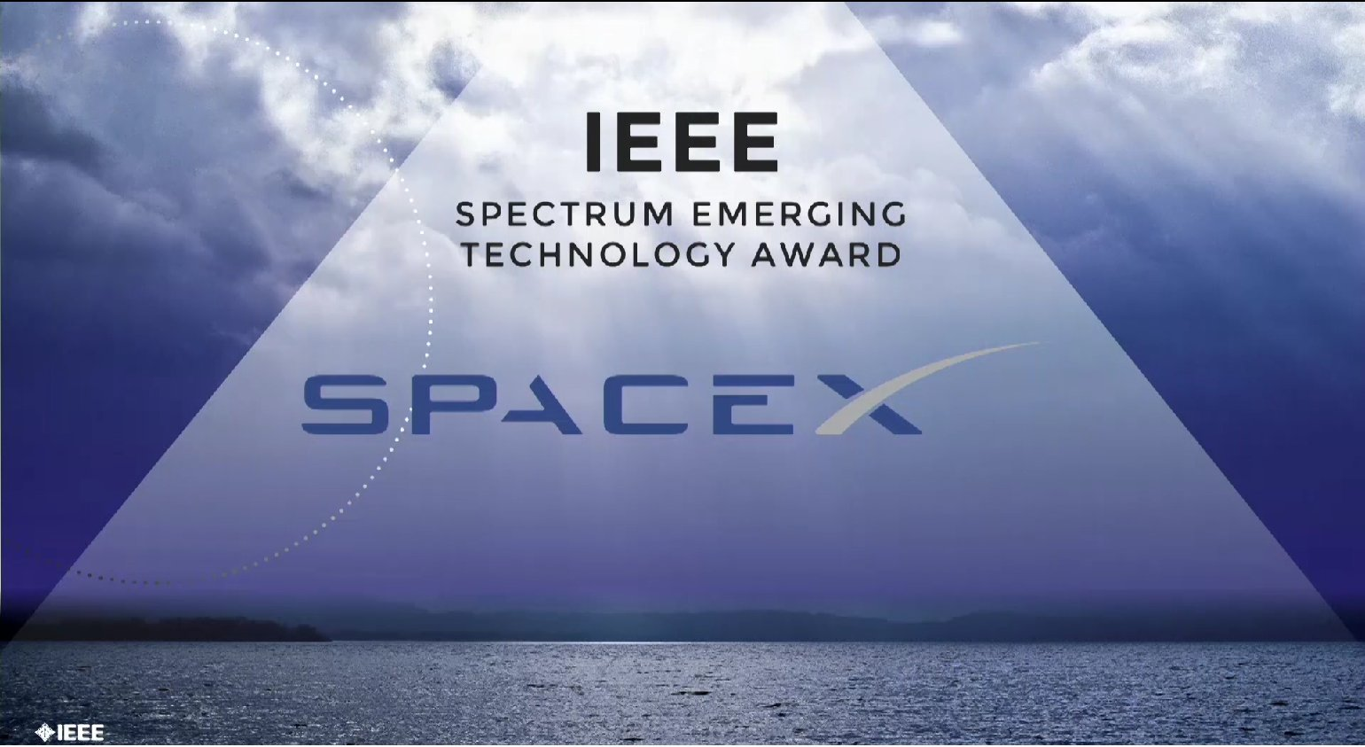 SpaceX receives the IEEE Spectrum Emerging Technology Award - Honors Ceremony 2017