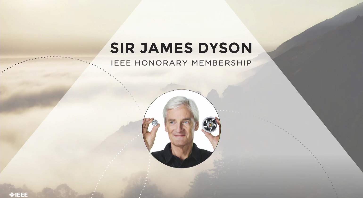Sir James Dyson receives the IEEE Honorary Membership - Honors Ceremony 2017