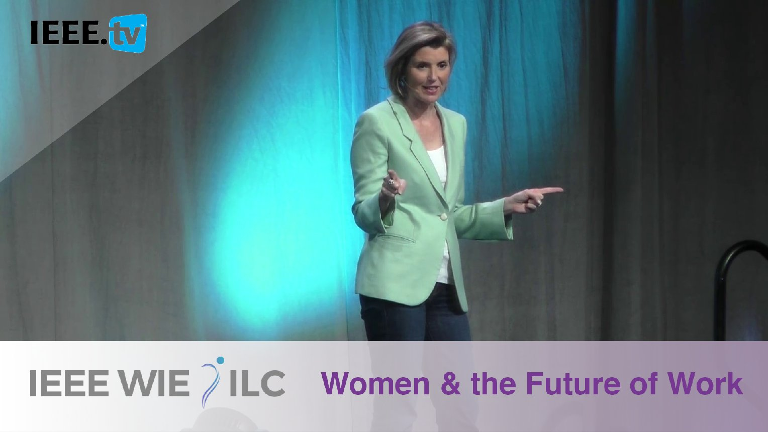 Women and the Future of Work with Keynote Sallie Krawcheck - IEEE WIE ILC 2017