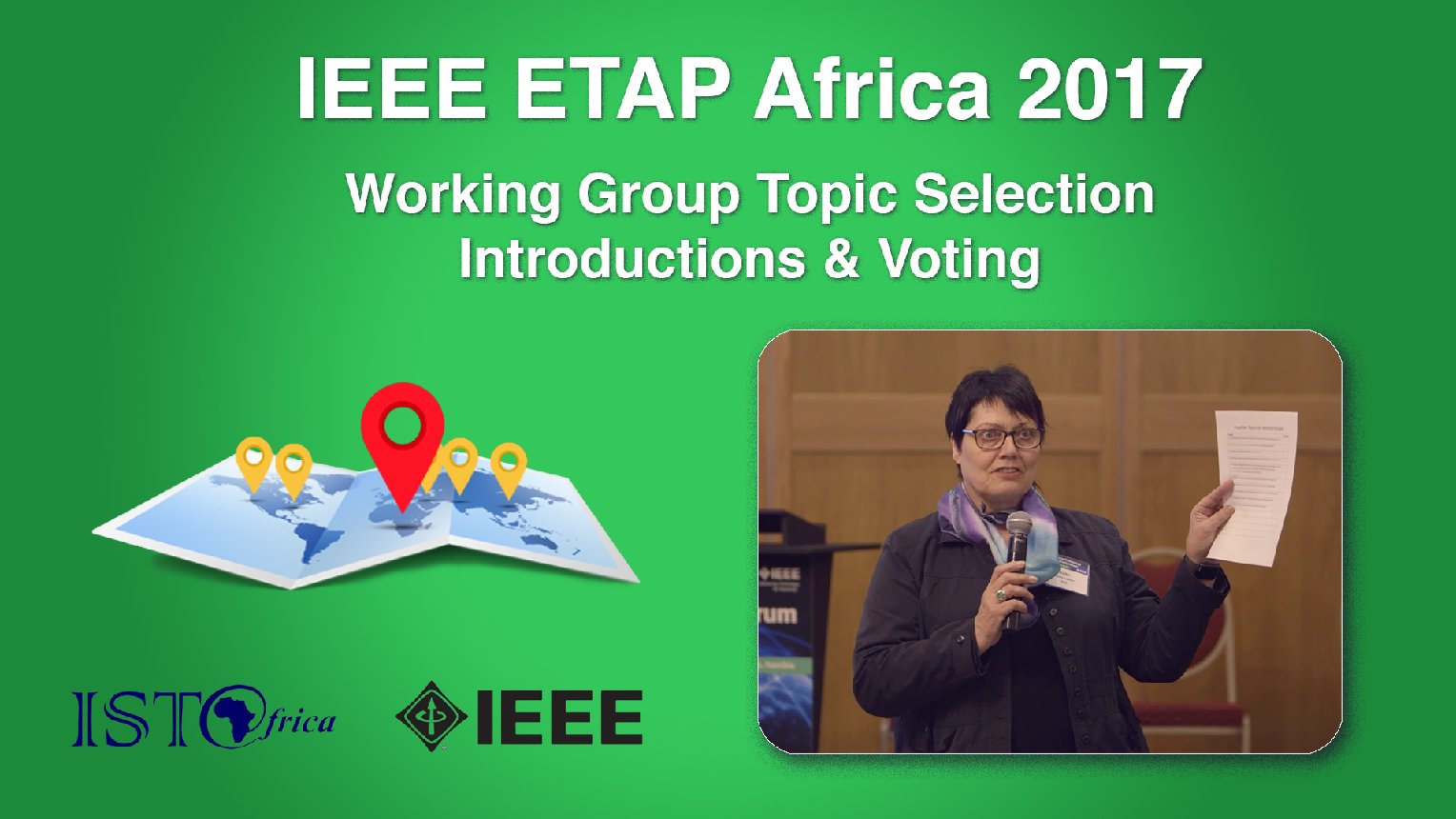 Working Group Topic Selection - ETAP Forum Namibia, Africa 2017