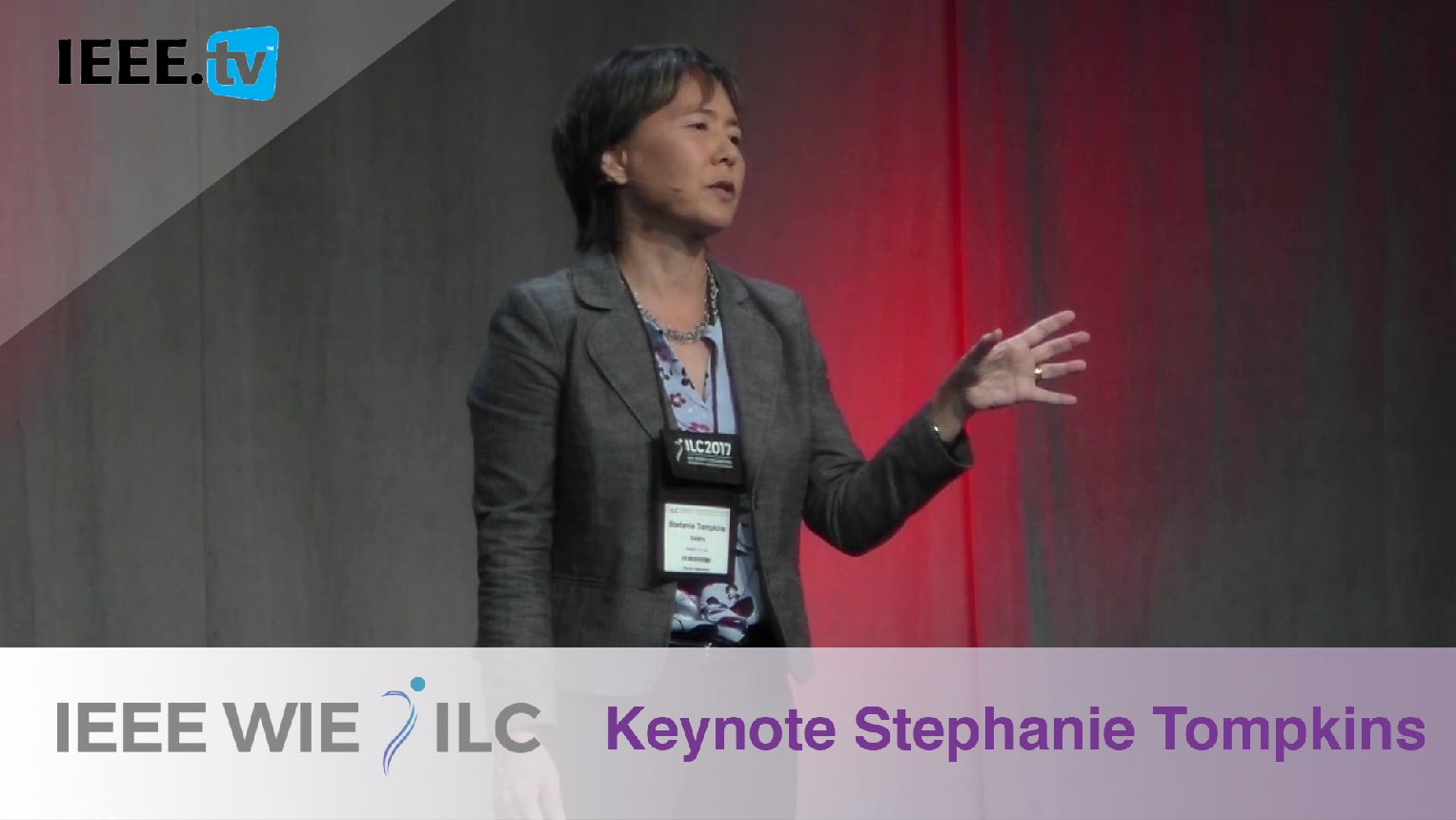 Javelins Into the Future with Stefanie Tompkins - IEEE WIE ILC 2017