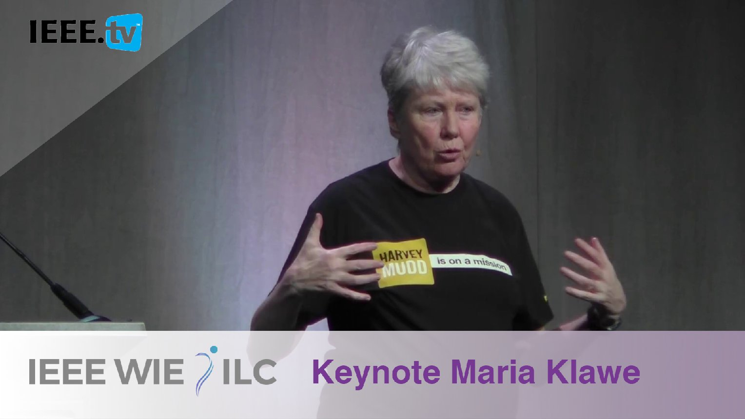 Broadening Participation in Computing and Empowering Female Leaders with Maria Klawe - IEEE WIE ILC 2017
