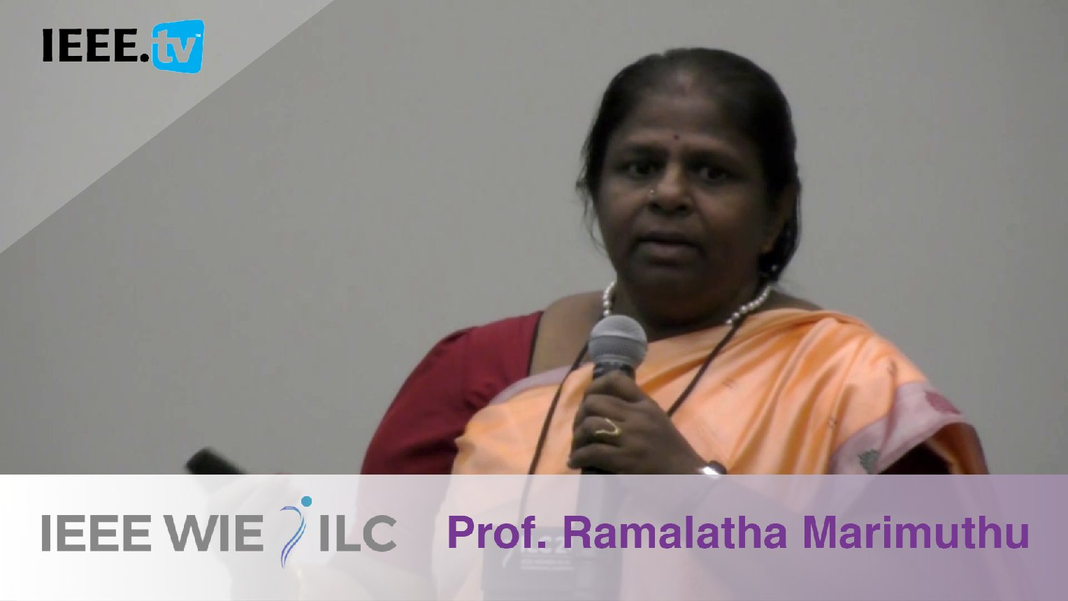 Ramalatha Marimuthu: Inspiring WIE Member of the Year Winner - IEEE WIE ILC Awards 2017