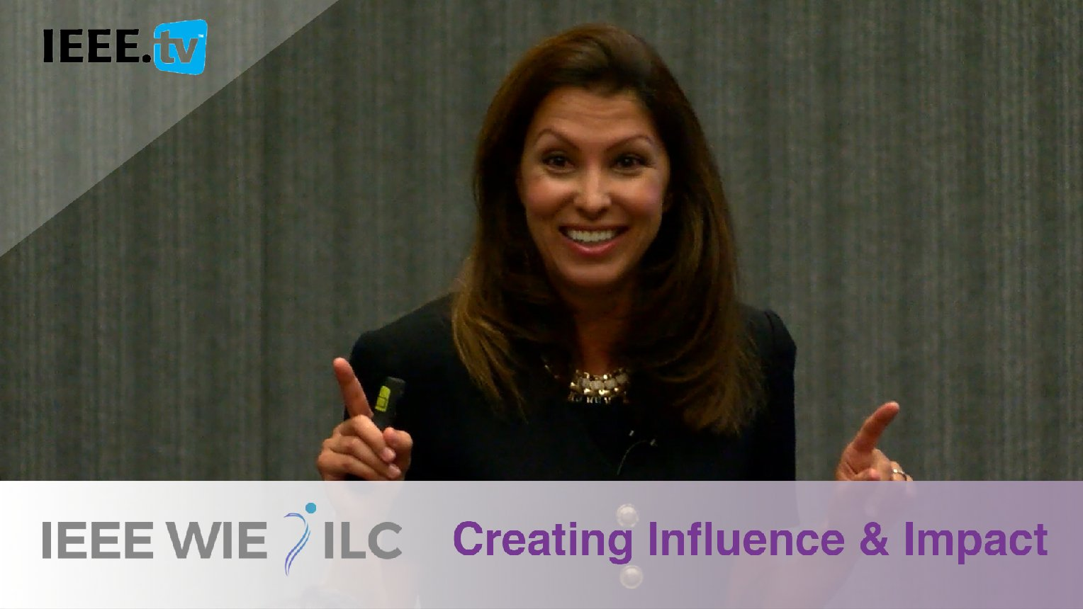 Creating Influence and Impact with JJ DiGeronimo - IEEE WIE ILC 2017