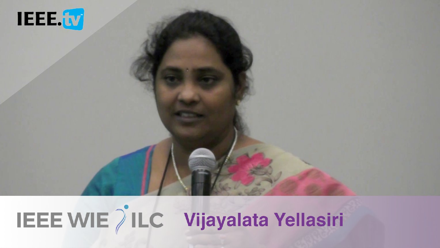 Vijayalata Yellasiri: Student Branch Affinity Group of the Year Winner - IEEE WIE ILC Awards 2017