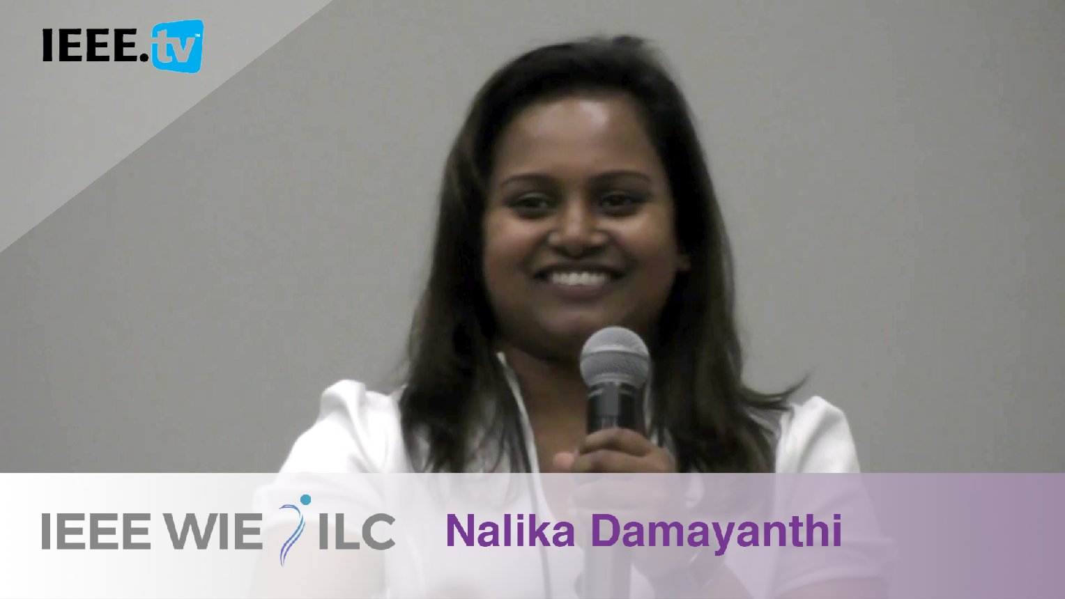 Nalika Damayanthi: Affinity Group of the Year Winner - IEEE WIE ILC Awards 2017