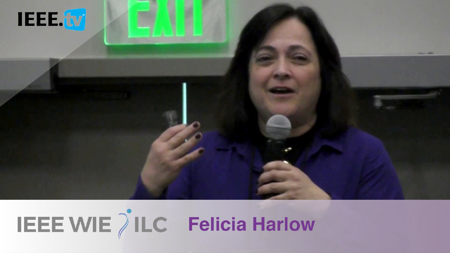 Felicia Harlow: Inspiring WIE Member of the Year Honorable Mention - IEEE WIE ILC Awards 2017