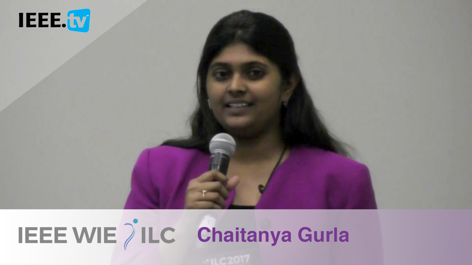 Chaitanya Gurla: Student Branch Affinity Group of the Year Honorable Mention - IEEE WIE ILC Awards 2017